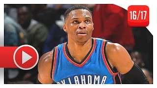 Russell Westbrook Full Triple-Double Highlights vs Hawks (2016.12.05) - 32 Pts, 13 Reb, 12 Ast