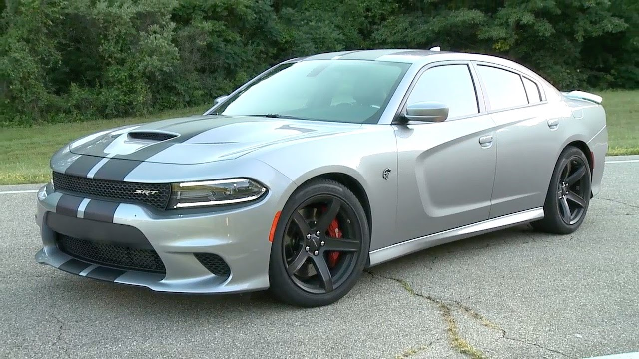 2017 Dodge Charger Srt Hellcat 707 Hp