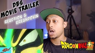 GOKU VS YAMOSHI? DRAGON BALL SUPER MOVIE TRAILER 2018 [HD] REACTION AND BREAKDOWN!