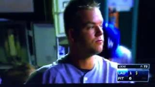 Joe Blanton Fights Gatorade Cooler