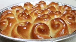 Download Video How to Bake Dinner Rolls / Bread Rolls / 烤面包卷 MP3 3GP MP4
