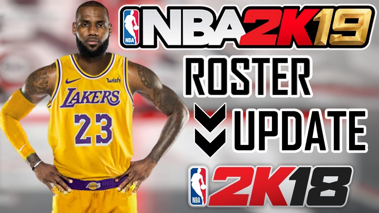 How To Get NBA 2K19 Roster Update for NBA 2K18 🔥 - YouTube