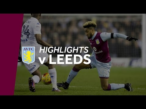 Leeds United 2-0 Aston Villa | Highlights