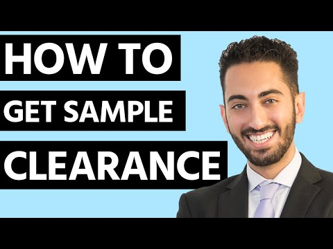 How to Get Sample Clearance for Music Artists? - YouTube