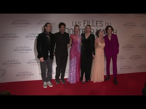 Ronan, Pugh, Chalamet bring 'Little Women' to Paris