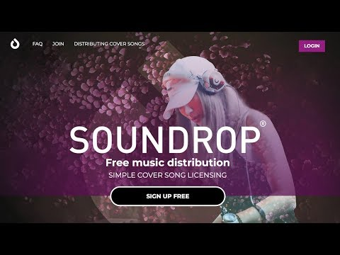 How To Put Music On iTunes/Apple Music/Spotify Free (Soundr/Soundrop Music Distribution Service)