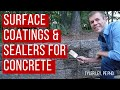 Surface coatings and sealers for concrete – How long do silanes last and why do they fail?
