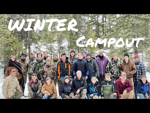 Men's Winter Camping Trip