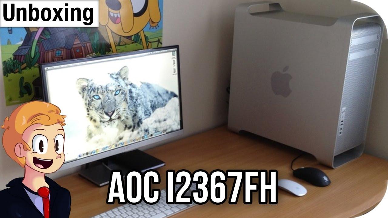 Unboxing: AOC i2367FH Monitor