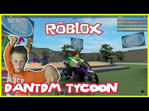 DanTDM TYCOON! Roblox