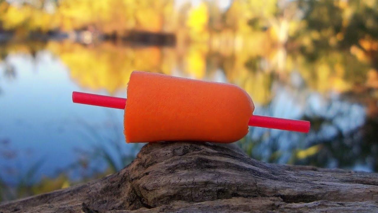 Quick Trick: Cheap & Easy Homemade Slip Float