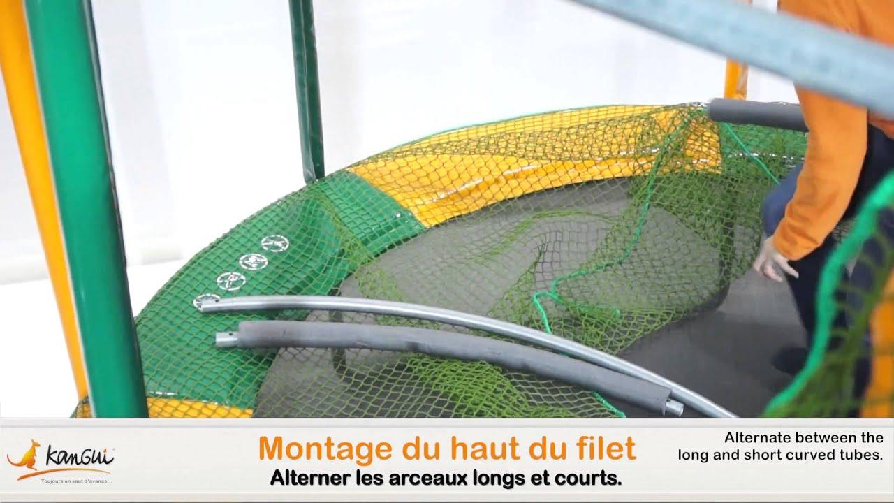 kangui montage du trampoline kangui energi 300 youtube. Black Bedroom Furniture Sets. Home Design Ideas