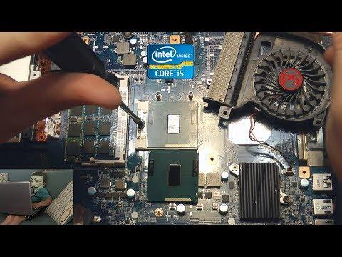 Замена Intel Core I3 на I5, легкий апгрейд ноутбука ⧈_⧈