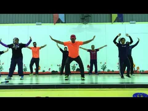TOT Kem PLKN Padang Kacong - Music Fitness by USSA-Malaysia