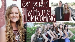 Get Ready With Me | Homecoming 2015