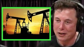 Joe Rogan - Elon Musk on the Future of Fossil Fuel