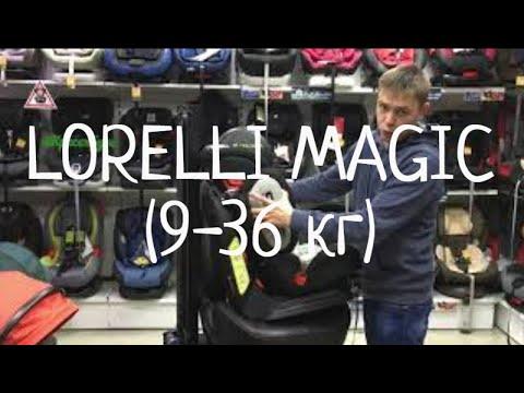 Обзор Автокресло LORELLI LB-361 MAGIC PR SPS (9-36 кг) В КРЕСЕЛБУРГ т.292-99-55 КРАСНОЯРСК