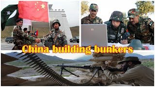 China building bunkers, military infrastructure for Pakistan along border with India