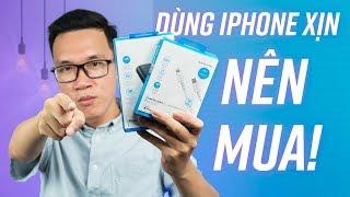 Sạc nhanh cho iPhone với bộ phụ kiện Anker
