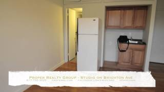 Allston apartment - studio, prof management, heated, large, clean | Proper Realty Group