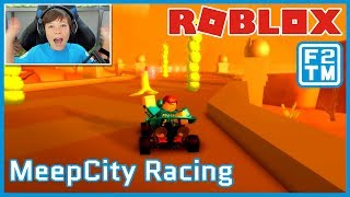 SCARY MEEP'S HAVE NO EYES!!! Roblox MeepCity Racing | Fraser2TheMax | Roblox Kid Gamer