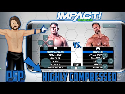 🔥TNA IMPACT PSP HIGHLY COMPRESSED ISO IN 350MB || PPSSPP || HIGHLY COMPRESSED ||