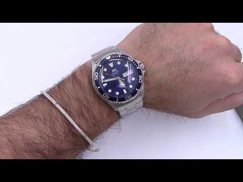 Long Island Ray Blue Dive Watch - Exclusive Orient Ray Modified