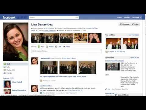 how to get a link to your facebook profile