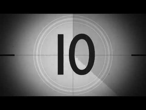 Black and white film countdown motion background youtube - How to make a countdown your wallpaper ...