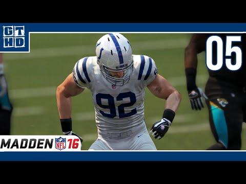 Madden NFL 16 Spielerkarriere (Bjoern Werner OLB) [Deutsch/60FPS] S01 #05 Hunting for Bortles