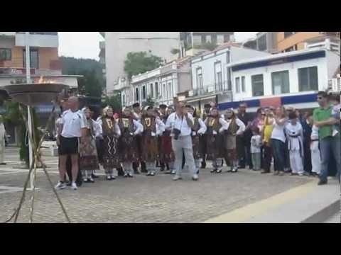 Ολυμπιακή φλόγα στην Ξάνθη.14.5.2012