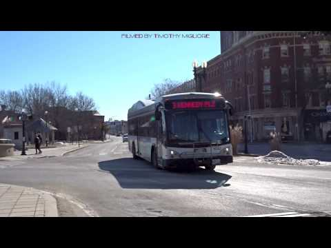 Buses in Providence, Rhode Island 2018