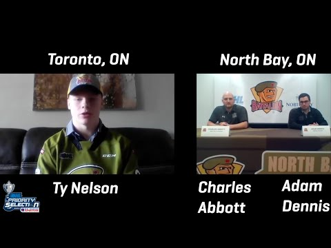 North Bay Battalion Announce Ty Nelson As First Overall Pick In 2020 OHL Priority Selection