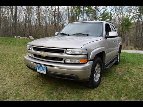 Taking a close look at my 2004 Chevy Tahoe Z71 - Chevy Tahoe Review And First Impressions