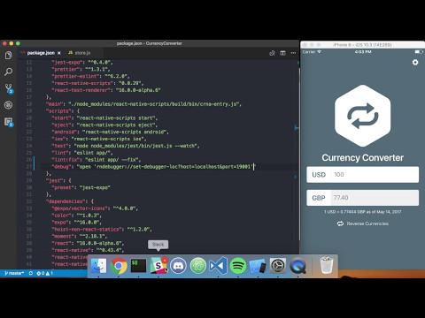 Create React Native App + React Native Debugger