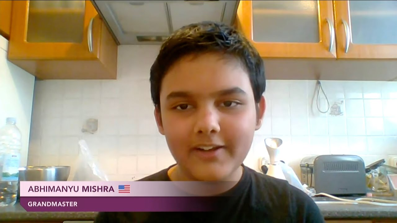 Download Abhimanyu Mishra on being the world's youngest ever Grandmaster