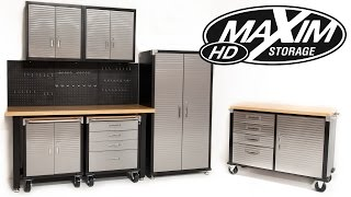 Maxim Toolboxes Heavy Duty Garage Storage Systems.wmv