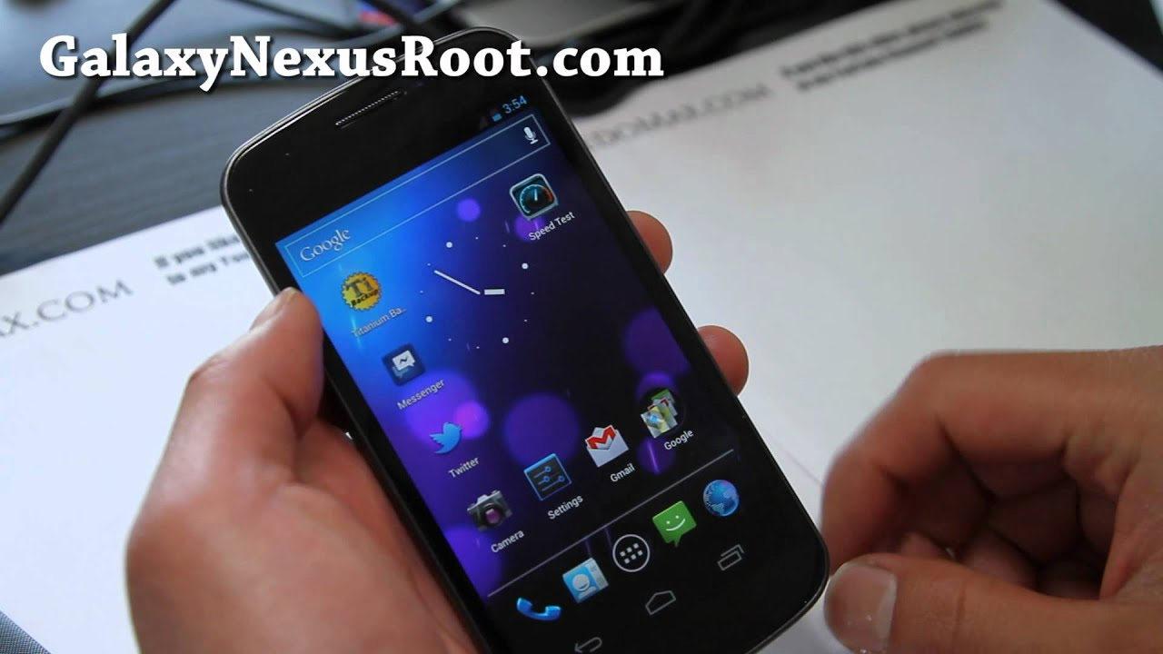 How To Flash New Radio On Galaxy Nexus GSM Fix Signal