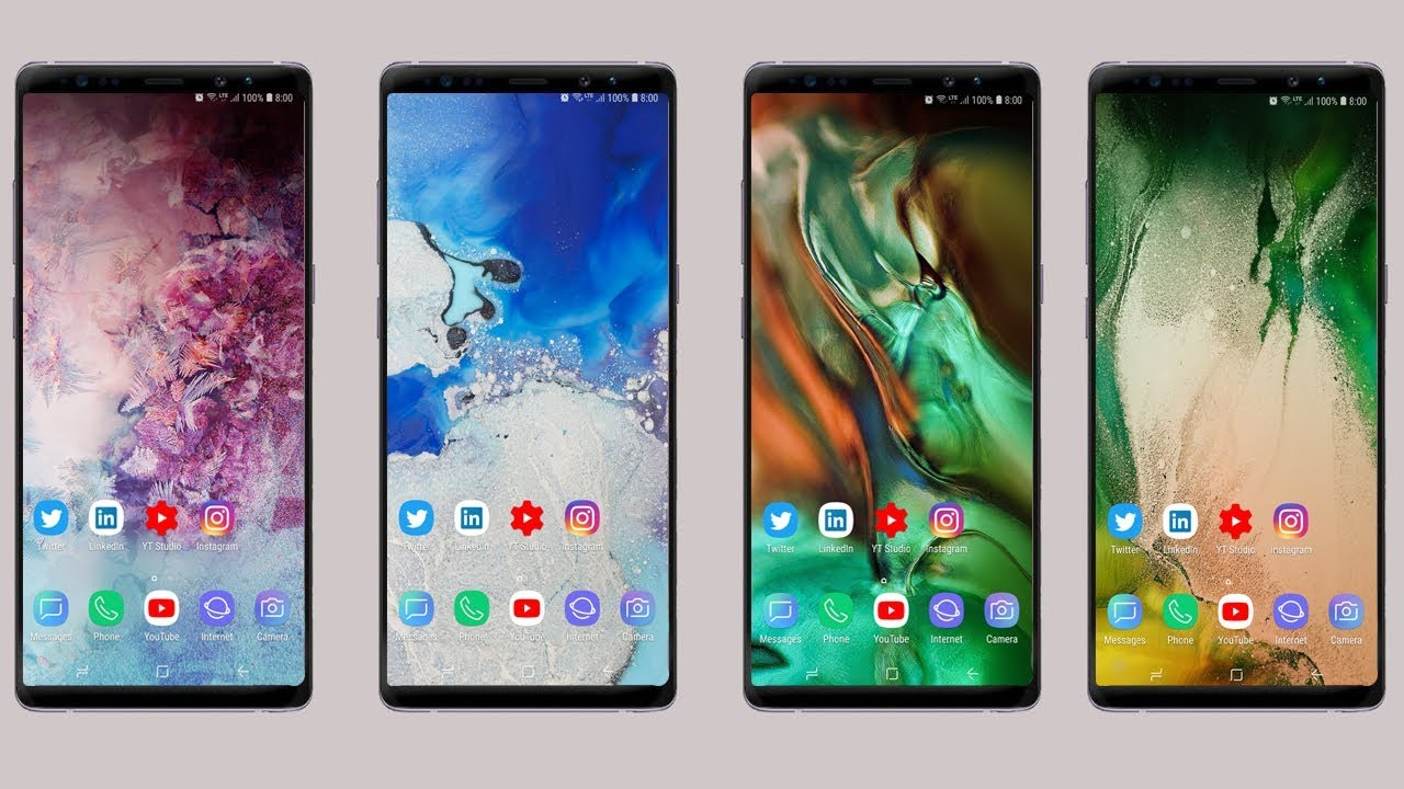 Download Official Galaxy S10 Wallpapers 2 Youtube