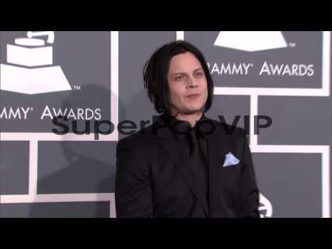 Jack White at The 55th Annual GRAMMY Awards - Arrivals in...