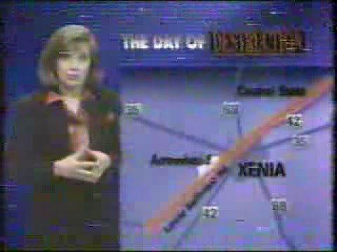 Day of Destruction WHIO 1994 Broadcast for the 20th Anniversary of the Xenia Tornado