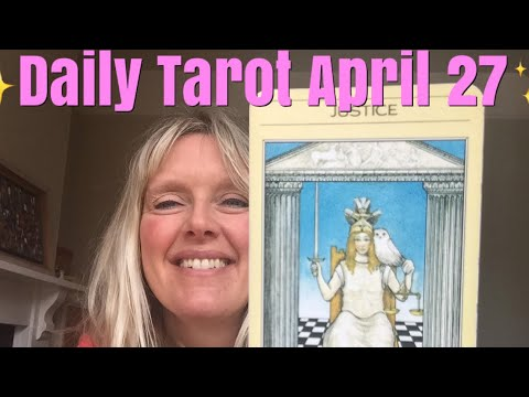 Daily Tarot April 27, 2018 Information Is Power!!