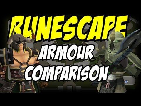 Runescape Barrows Armor Vs Bandos Item Comparison After Eoc Youtube