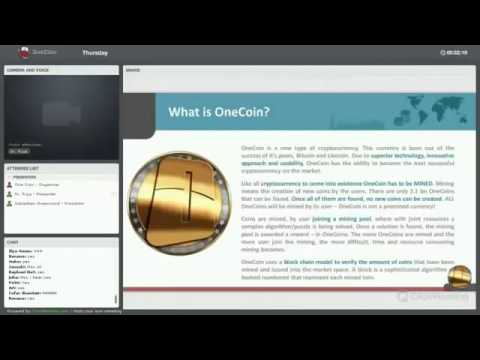 Understanding OneCoin and CryptoCurrency