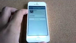 How To Upgrade iPhone5 to The Latest Firmware : Step by Step Guide
