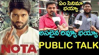 Nota Telugu Movie Public Talk   Nota Movie Review   Vijay Devarakonda   Mehreen Pirzada #9RosesMedia