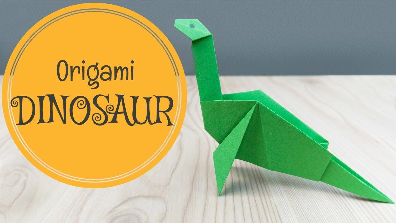 Origami Velociraptor (Jo Nakashima) - Dinosaur #6 - YouTube | 720x1280