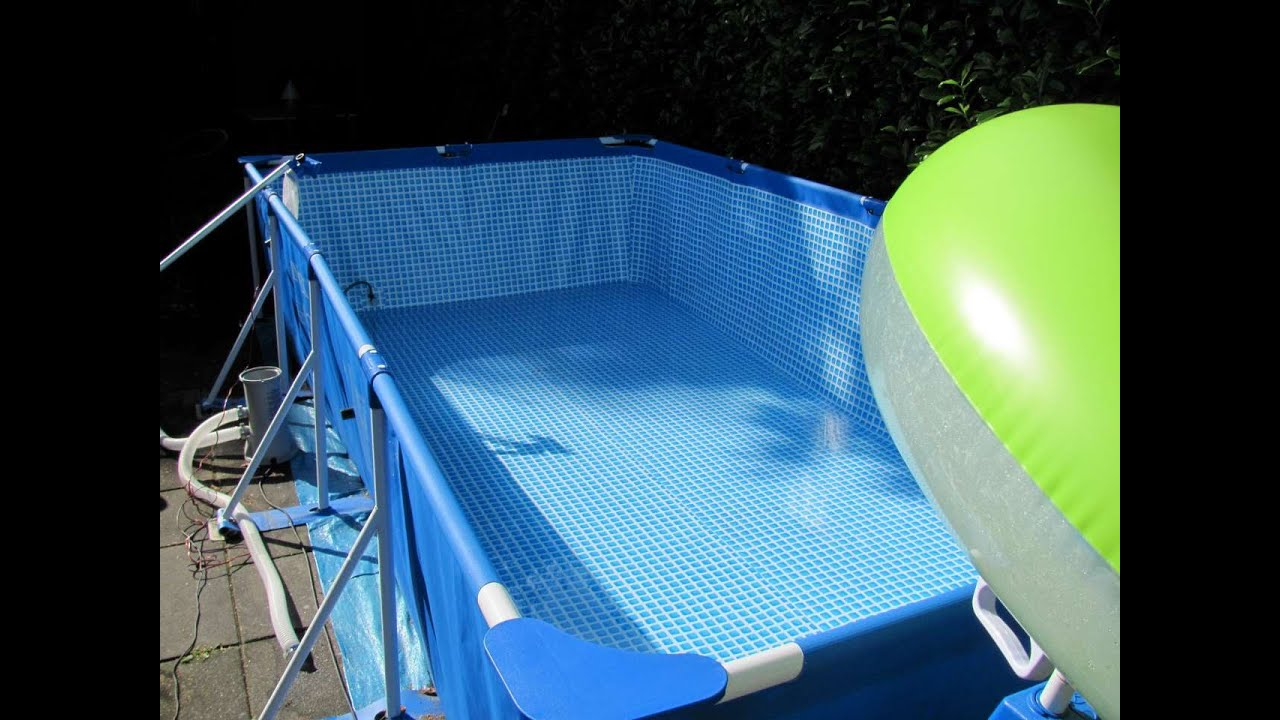 How To Empty Draining Your Intex Swimming Pool The Easy