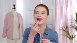Видео урок по красоте: как наносить жидкую губную помаду
