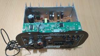 [Bán MĐ] Mạch khuếch đại âm thanh kiêm đọc USB/TF/FM/BLUETOOTH JW-A5T